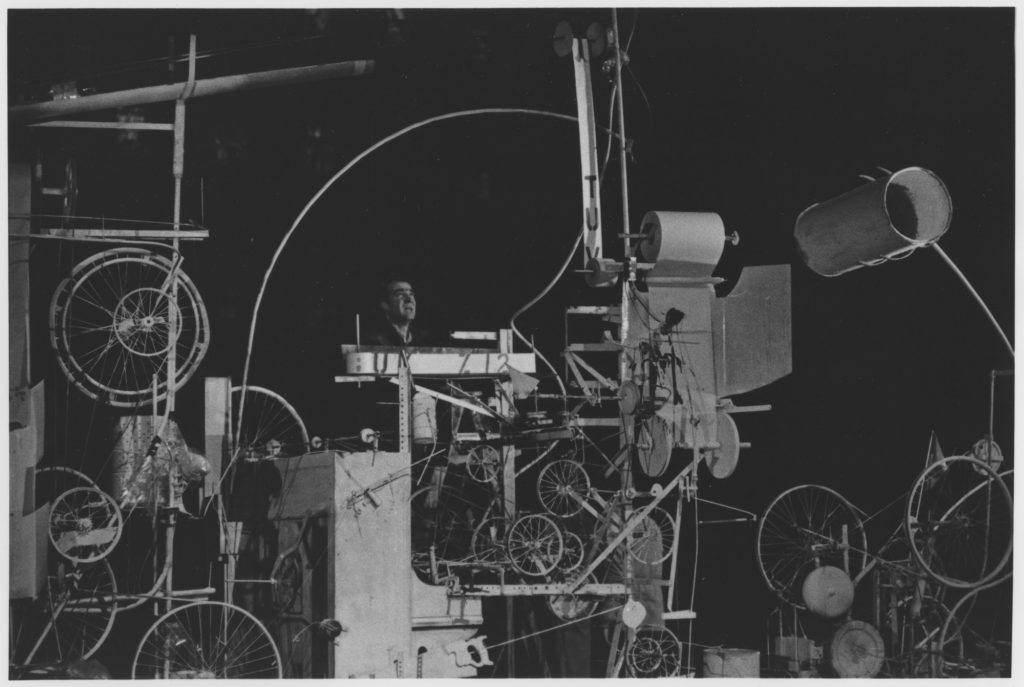 """Swiss artist Jean Tinguely """"Homage to New York"""""""