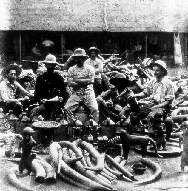Benin City looted by British Forces circa 1897