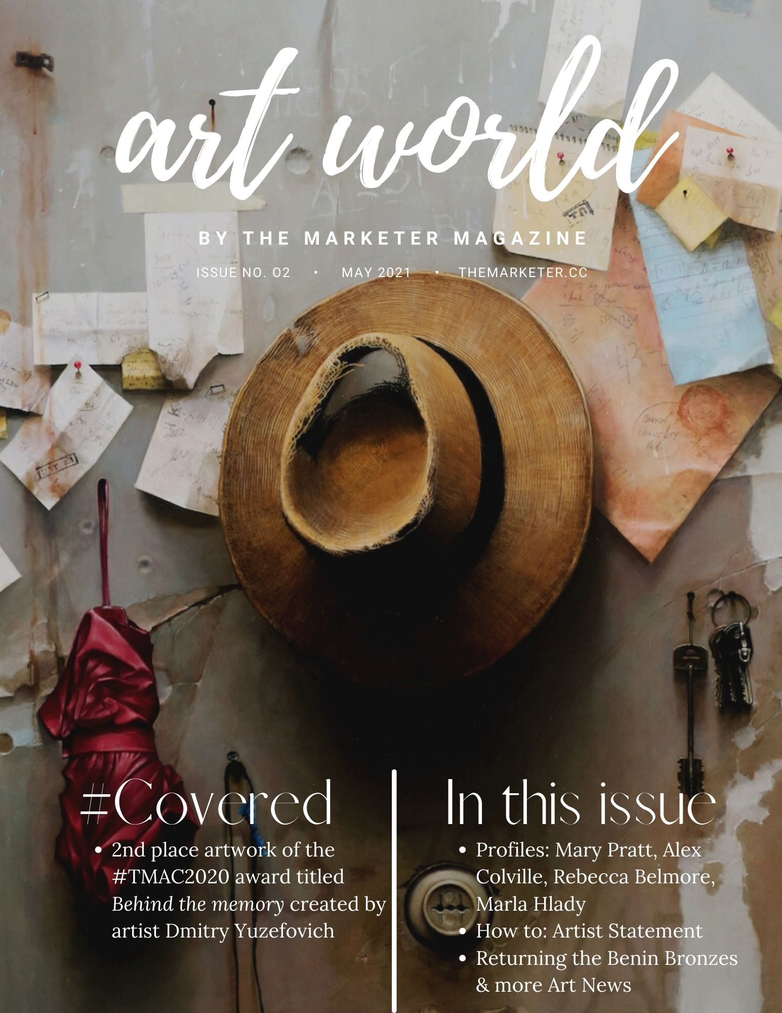 Art World Issue 2 May 2021 by The Marketer Magazine